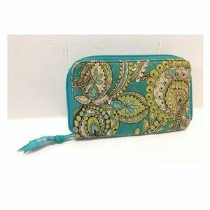 Vera Bradley | Boho Paisley Key Card Wallet